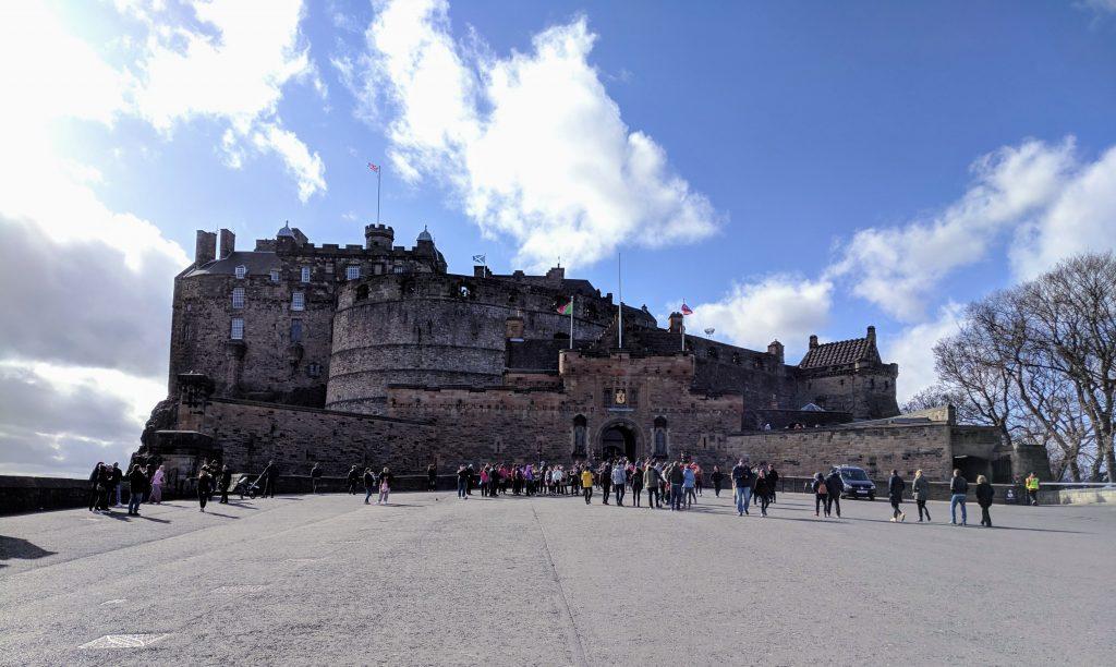 Edinburgh is looking beautiful as ever
